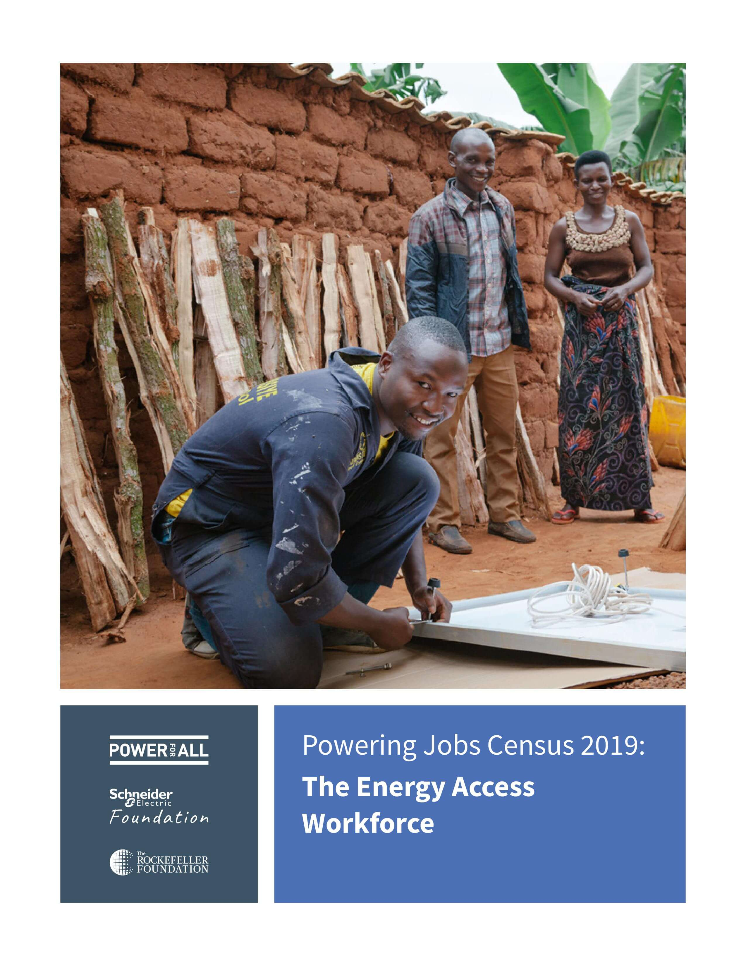 Renewable Energy Jobs in Sub-Saharan Africa and Asia 2019